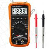 Peakmeter PM8233D digitális multiméter automatikus méréshatár váltással és VALÓS CATIII 600V besorolással