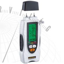 MultiWet-Masterroncsolásmentes felületmérés és anyagnedvesség pontbeli mérése.Szobaklíma mérése harmatponttal