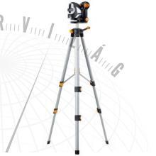 SuperCross-Laser2PRXkészlet150cmautomatikus keresztvonalas lézer lézervevővel és 150 cm-es kompakt háromlábú állvánnyal