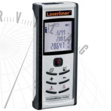 DistanceMasterPocketlézeres távolságmérő–pontos, még gyorsabb pontmérés