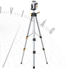 SmartLine-Laser360°szett automatikus keresztvonalas lézer 155 cm-es kompakt háromlábú állvánnyal és lézerjavító üvegekkel