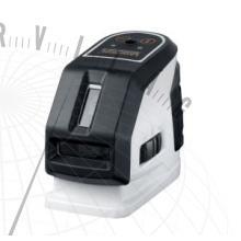 MasterCross-Laser2Pszintező keresztvonalas lézer 2 tisztán látható lézervonallal és függőlézer funkcióval