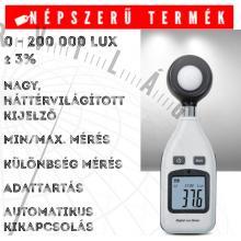 ABM L101 fénymérő Luxmérő megvilágításmérő