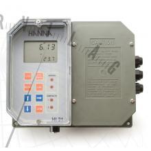 HI 21 Digitális pH‐szabályzó (falra szerelhető)