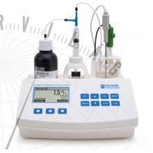 HI 84502 Borászati minititrátor az összes savtartalom méréséhez