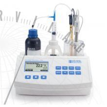 HI 84529 Élelmiszeripari minititrátor a titrálható savtartalom méréséhez