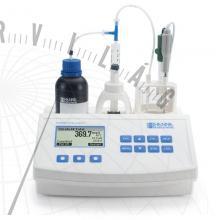 HI 84530 Vízanalitikai minititrátor a titrálható savtartalom méréséhez
