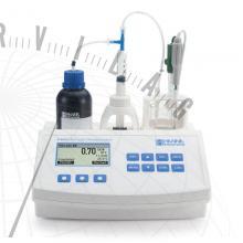 HI 84532 Élelmiszeripari minititrátor a titrálható savtartalom méréséhez