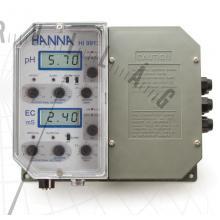 HI 9913 Ipari pH- és EC-szabályzó (proporcionális szabályzással)