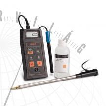 HI 993310 Hordozható talajaktivitás és EC-mérő