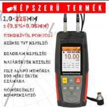 NOVA FVM-100A fejlett ultrahangos falvastagságmérő