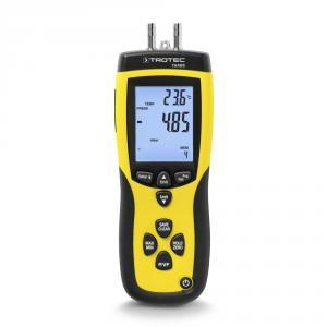 TA400 dinamikus nyomás légsebességmérő (torlónyomásos anemométer)