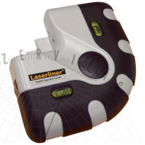 SuperSquare-LaserPlus90°-os szintező lézer igazítási feladatokhoz padlók és falak esetén