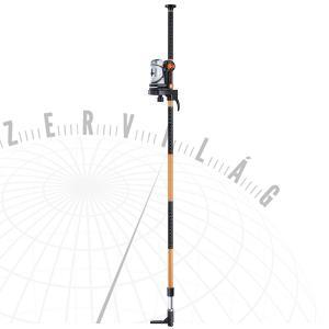 SuperCross-Laserset330cmautomatikus keresztvonalas lézer 330 cm-es teleszkópos állvánnyal