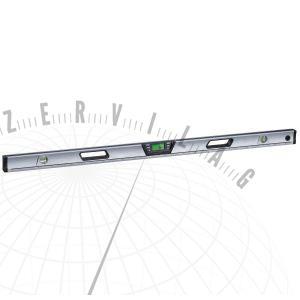DigiLevelPro120cmdigitális, elektronikus szintmérő pontlézerrel, amely optikai meghosszabbításként szolgál a szög és magasság precíz pontbeli kiértékeléséhez