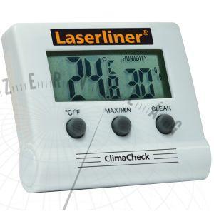 ClimaCheckDigitális hőmérséklet és páratartalom mérő