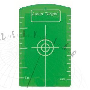 Zöld mágneses céltábla minden forgólézerhez és lézeres műszerhez