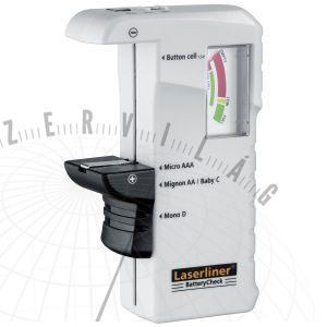 BatteryCheckelem mérőműszer az elem töltöttségi szintjének ellenőrzésére