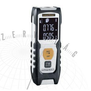 LaserRange-Masteri3lézeres távolságmérő –egyszerű működtetési technika