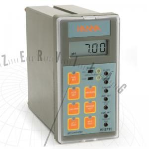 HI 8711 Analóg pH-szabályzó (panelbe szerelhető)