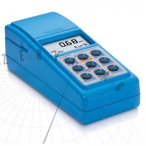HI 93414 Hordozható zavarosságmérő és fotométer a klórtartalom méréséhez