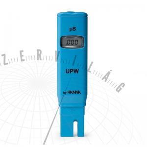 HI 98309 EC-teszter a desztillált és ioncserélt víz vizsgálatához
