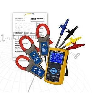 3-fázisú ABM-PA 8000 teljesítménymérő, ISO-kalibrációs tanúsítvánnyal