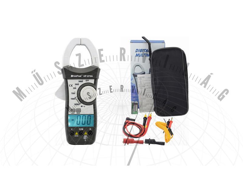 HPK870A Digitális lakatfogó
