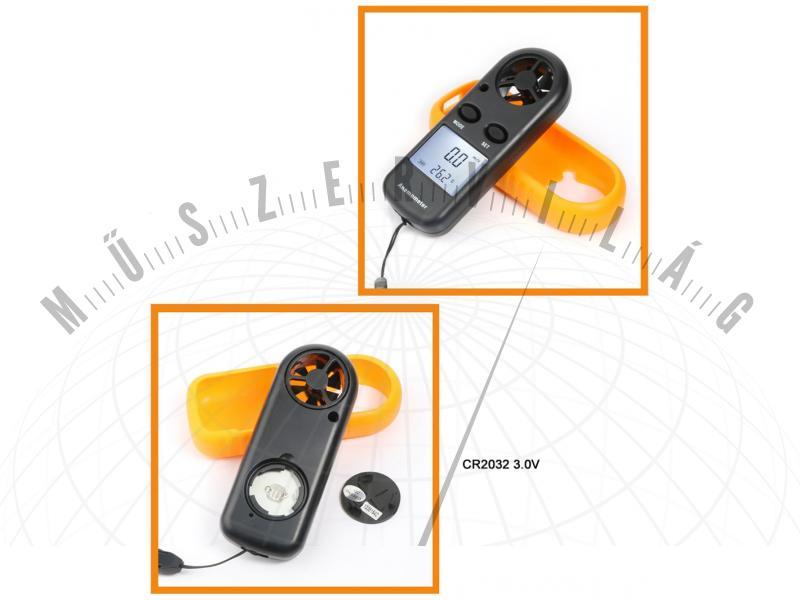 N16 digitális szélsebességmérő anemométer