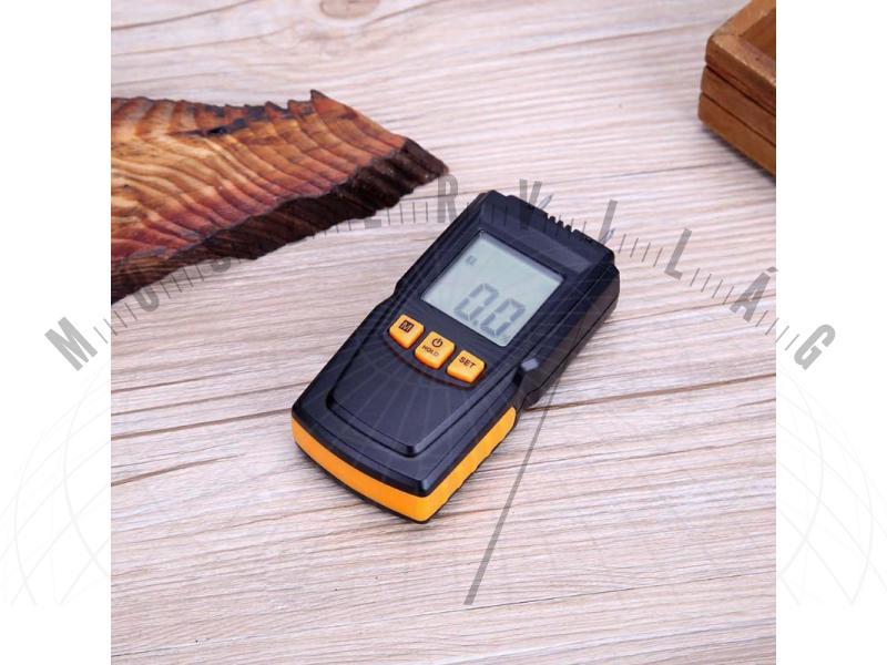 NM05 nedvesség tartalom mérő fa nedvességtartalmának illetve építőanyagok nedvességtartalmának mérésére
