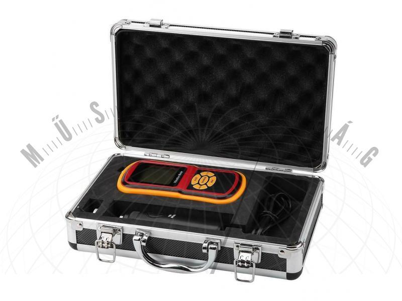 V63B Digitális rezgésmérő vibráció mérő külső mérőfejjel