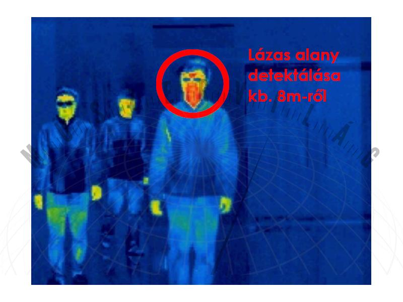 IFDS320 azonnali lázfelismerő kamerarendszer - testő mérő kamera lázmérés hőkamera